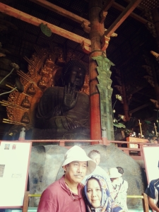 Dad, Mom and Daibutsu..