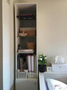 Mini book shelf!